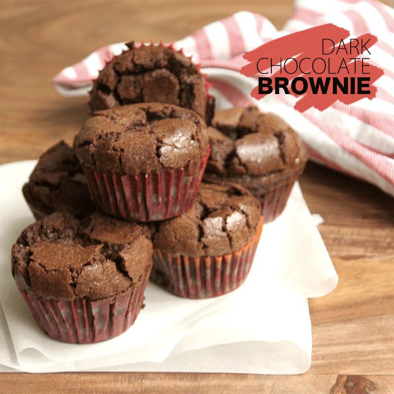 dark chocolat brownie