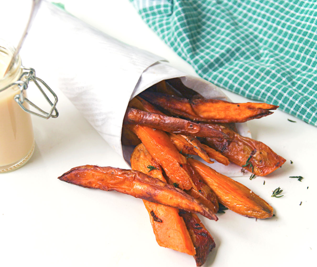 Share Love Not Secets sweet potato fries