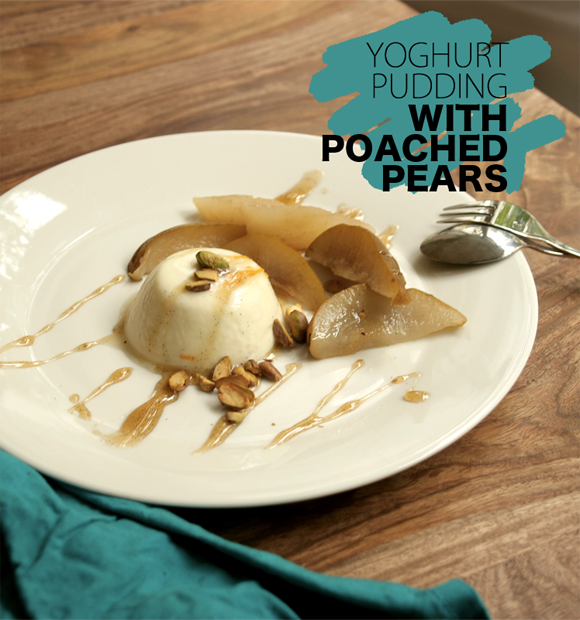 yoghurt-pudding-with-poached-pears