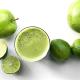 apple lime basil juice