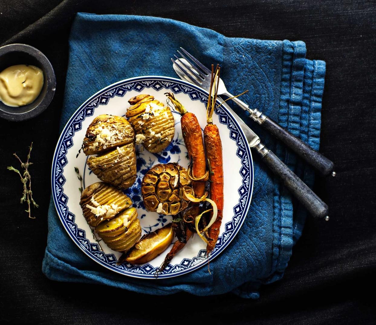 geroosterde-aardappelen-en-knoflook